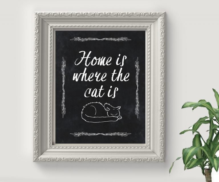 Free Cat Quote Printable
