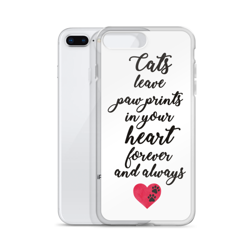 cat poem quote phone case