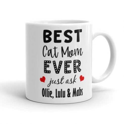 custom pet names mug gift