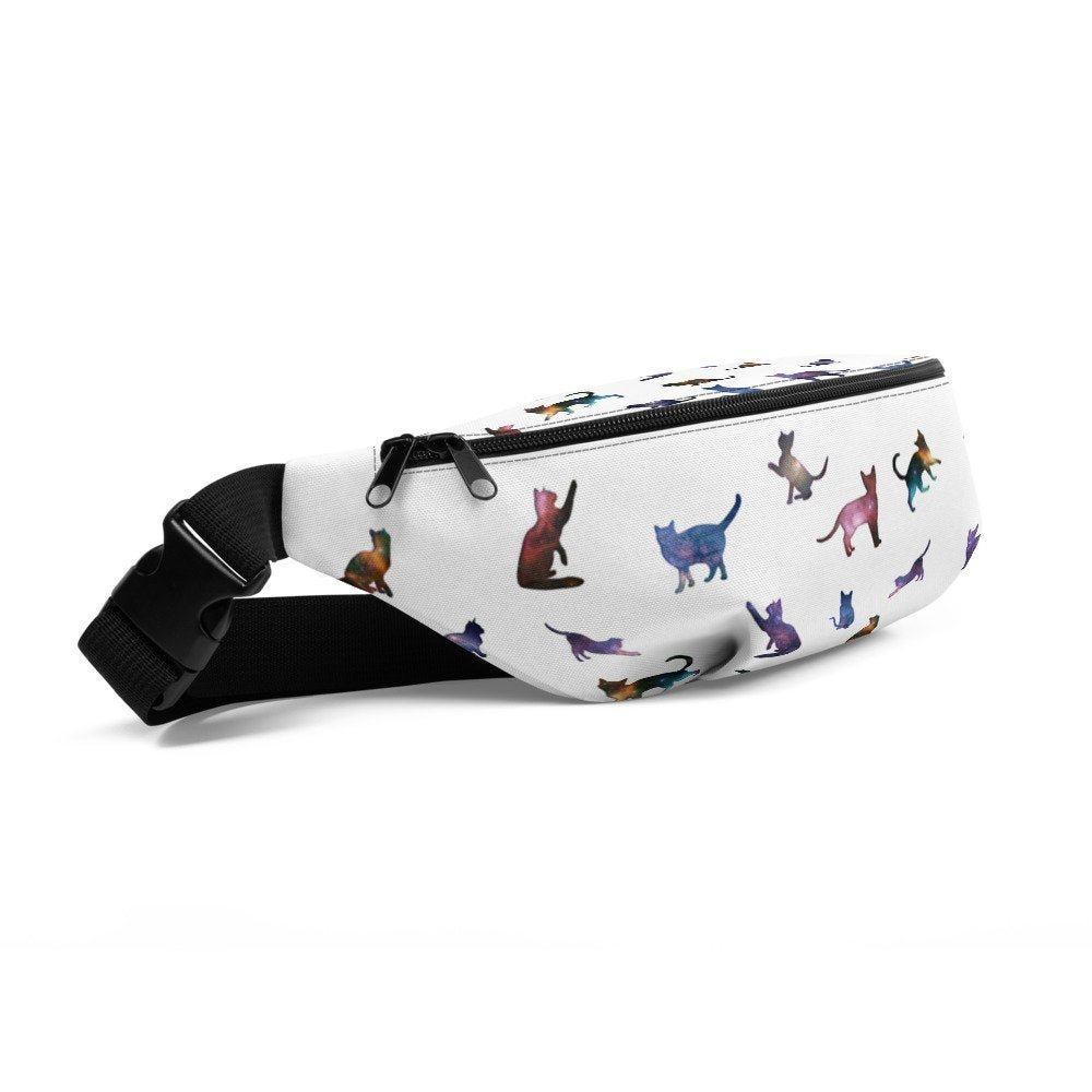 Galaxy Cute Cats Fanny Pack Belt Bag