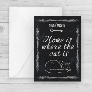 new home cat card