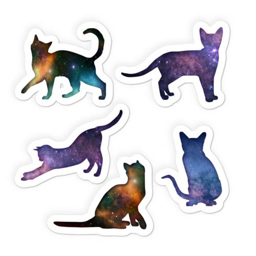 space cats stickers shop