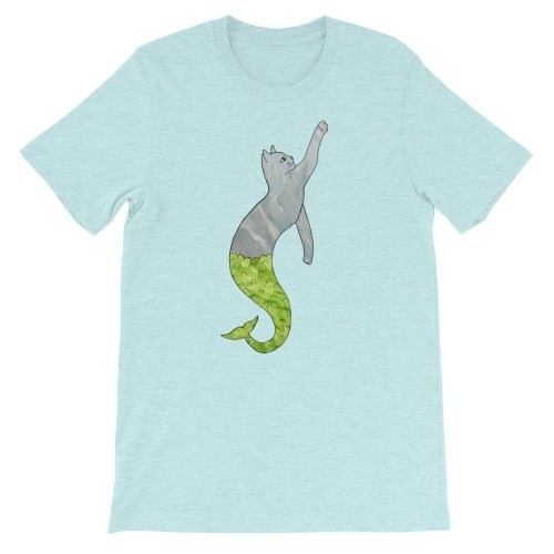 Purr-maid Ocean Blue T-Shirt