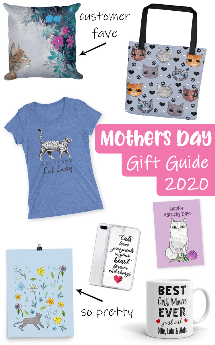 Mothers Day Gift Guide Cat Lady