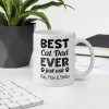 Best Cat Dad Coffee Mug