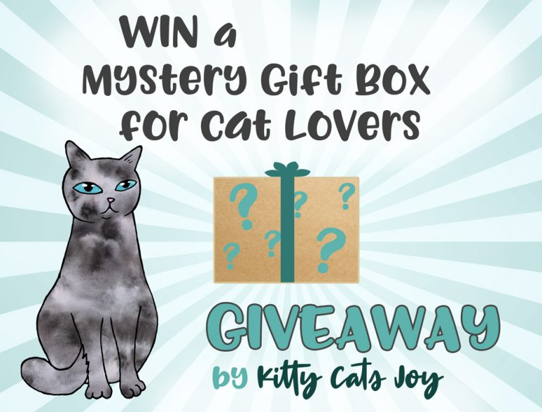 Win a Mystery Gift Box for Cat Lovers – Giveaway by Kitty Cats Joy