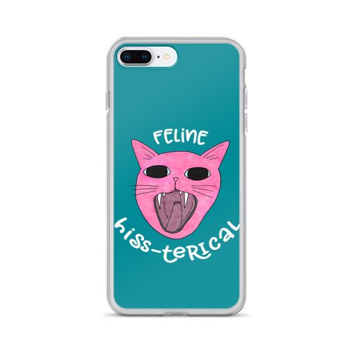 Funny Crazy Cat Phone Case