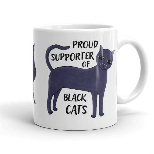 Proud Supporter of Black Cats Mug