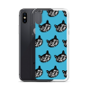 Love Black Cats Quote iPhone Case