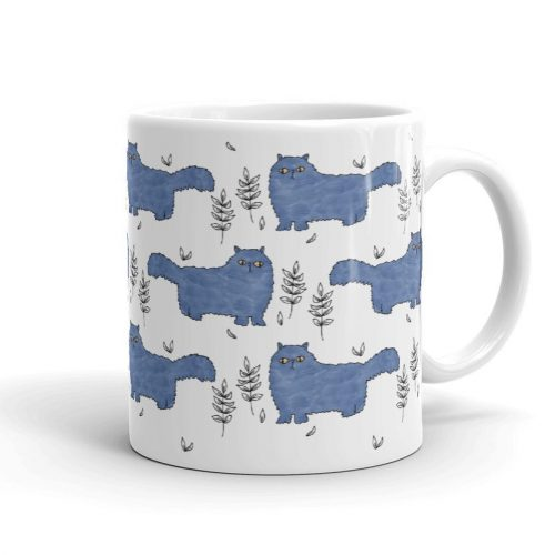 Fluffy Kitty Cats Mug