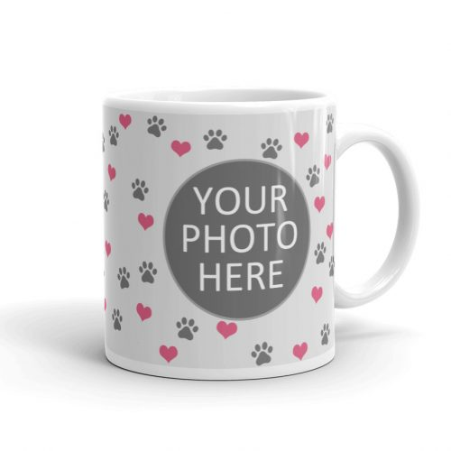 Cute Upload Your Pet Photo Mug